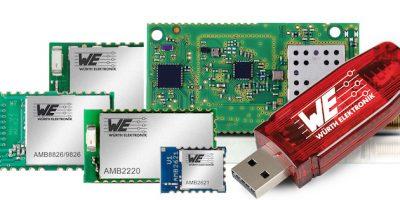 Würth Elektronik eiSos distributes products via Farnell