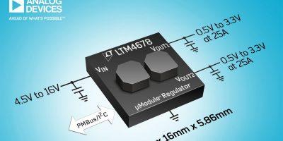 Regulator uses inductors as heatsinks