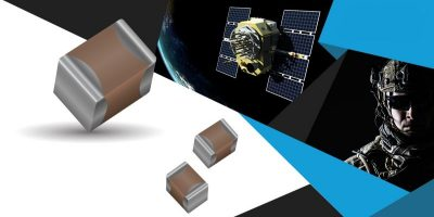 Space ready MLCCs are offered in two new case sizes