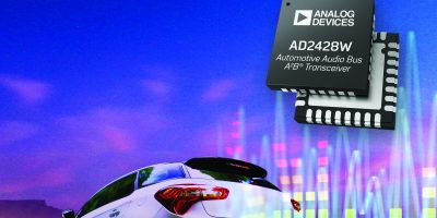 Transceivers offer tailormade performance for EMC needs in automotive audio
