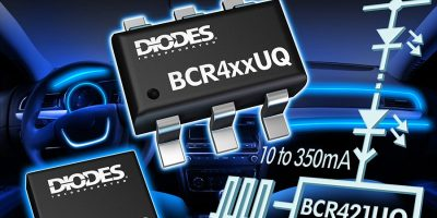 Automotive LED drivers are low profile to drive low power LED strings