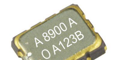Oscillator achieves accuracy over industrial temperature range