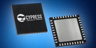 Mouser offers Cypress' CYW20719 SoC for smart home applications