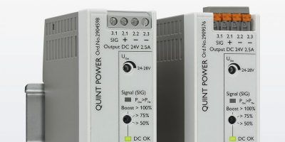 RS Components stocks Quint power DIN-mount power supplies