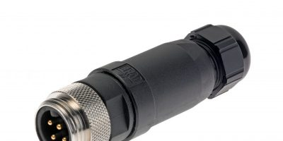 TTI adds Molex Brad M12 and M8 field-attachable connectors from TTI