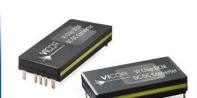 Vicor DCM in ChiP package expands enhanced output voltage regulation models