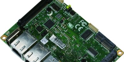 SBC is compact for factory automation and IoT gateway systems