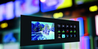 Densitron introduces technology with mechanical touch for broadcast