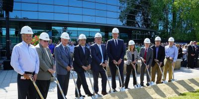 Analog Device breaks ground on new global HQ in Wilmingtom, MA