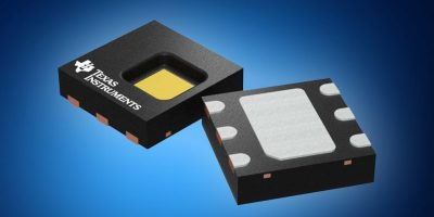 Mouser offers TI's digital humidity and temperature sensor for smart devices