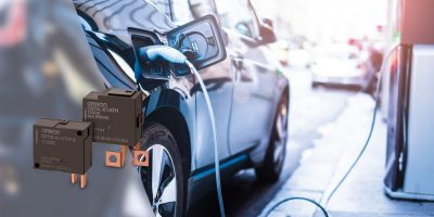 AC power latching relay range adds connectivity options for EV stations