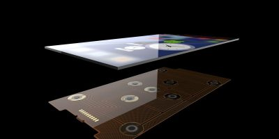 Force sensitive sensor adds functionality to mobile devices