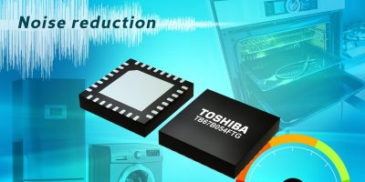 Three-phase brushless fan motor controller IC reduces noise