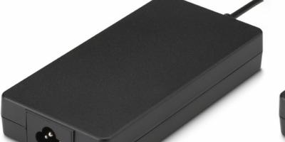 Slim 180W desktop adapter meets 62368-1 standards
