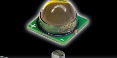 Surface-mount IR LED emitter generates uniform light for precision