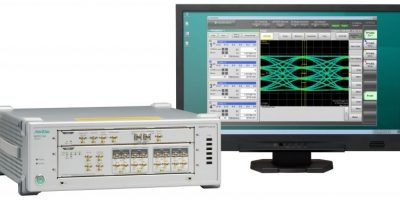 Firmware downloads can shorten test times for PAM4 optical signal analysis