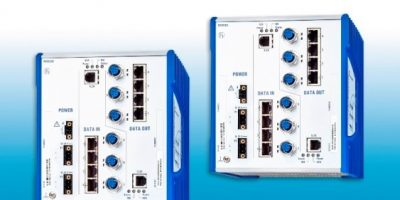 Data diode for rail simplifies mission-critical Ethernet