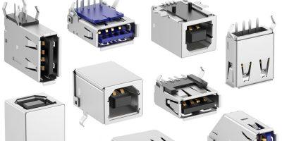 Fischer Elektronik introduces USB 2.0 and USB 3.0 sockets