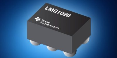 Mouser stocks Texas Instruments' low-side GaN driver