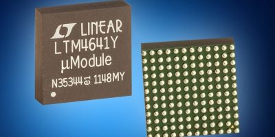 µModule PoL regulators now available from Mouser Electronics