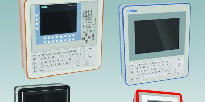 HMI/display panel enclosures are for touchscreens