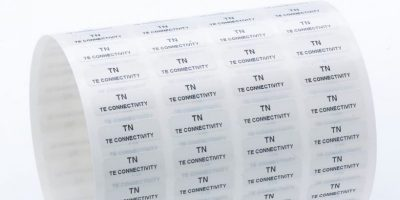 Polyethylene labels are tamper-proof for industry