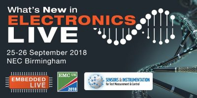 What's New in Electronics Live – update