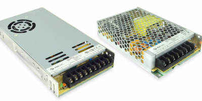 Chassis mount AC/DC power supplies save space in industrial applications