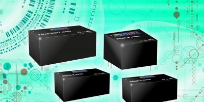 Dengrove adds Recom's compact, efficient AC/DC modules for IoT