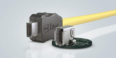Harting cuts size of industrial Ethernet connectors