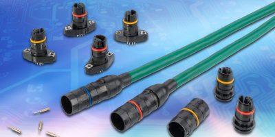 Circular sensor connectors protect critical elements in motorsport
