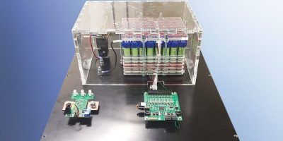 Modular EV/HEV battery test system lowers operating cost and size