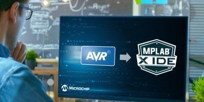 MPLAB X IDE supports AVR microcontrollers