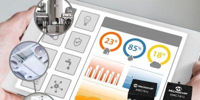 Temperature sensors boast 'smallest five-channel' model
