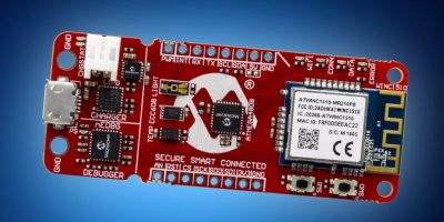 Mouser adds Microchip's AVR-IoT board for cloud connectivity