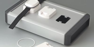 Mountable stations for wearable enclosures enable multiple units to be charged at once