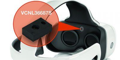 Proximity sensor has range of 200mm for VR/AR headsets