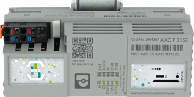 Phoenix Contact IIoT-oriented PLC made available by RS Components