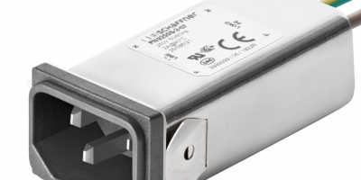 Schaffner debuts RFI filters for IEC inlets