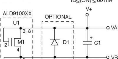 Six-channel PCB balances a range of supercapacitors