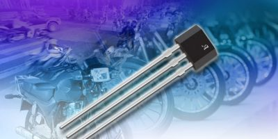 Speed sensor IC is robust for two-wheeled vehicle applications