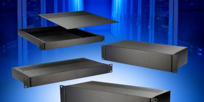 Sizes are added to rack mount and desktop enclosure series