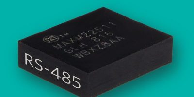 RS-485 module is smallest available, says Maxim