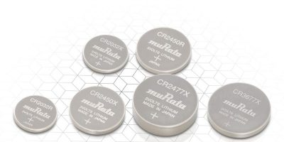 Murata adds high drain models to lthium coin cell range