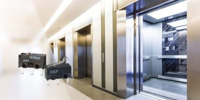 Microswitch saves space in building automation