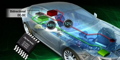 100V MOSFETs reduce EMI in automotive hybrid powertrains