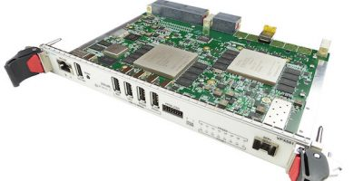 FPGA compute module for signal processing speeds in