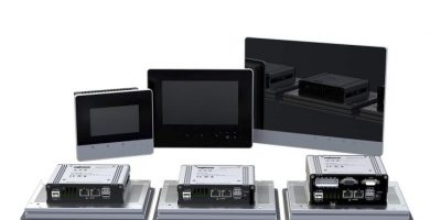 Touch panels are tailored for web or control applications