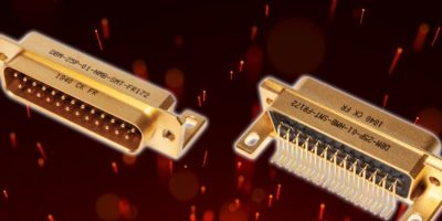 SMT D-Sub connectors are robust enough for space applications