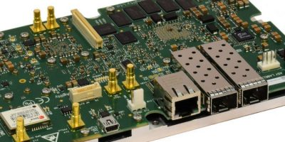 Baseband processing and RF module is for specialised LTE applications